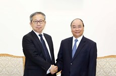 Премьер-министр принял нового посла Японии