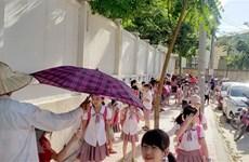 Север Вьетнама проходит через самую долгую жаркую пору за 27 лет