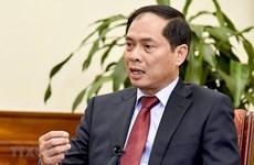 Заместитель министра МИД Буй Тхань Шон: EVFTA - важный шаг в реализации Общей стратегии международной интеграции