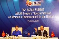 Лидеры АСЕАН обсуждают расширение прав и возможностей женщин в эпоху цифровых технологий