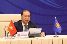 АСЕАН и китайские высокопоставленные чиновники встречаются онлайн