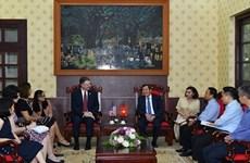 Вьетнам и США стремятся расширить сотрудничество в сфере СМИ