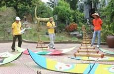 Первый национальный фестиваль воздушных змеев прошел в Намдине