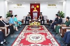 Биньзыонг и провинции Лаоса укрепляют сотрудничество