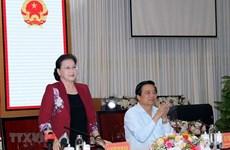 Председатель НС просит Лонган содействовать развитию региональных связей