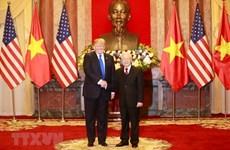 Лидеры Вьетнама и США обменялись поздравлениями по случаю 25-летия установления дипломатических отношений