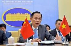 Генеральные секретари Комитета по двустороннему сотрудничеству Вьетнам-Китай провели онлайн-встречу