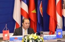 Заместитель министра иностранных дел председательствует на встрече старших должностных лиц АСЕАН+3