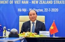 Вьетнам и Новая Зеландия поднимают двусторонние связи для стратегического партнерства