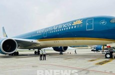 Рейс авиакомпании Vietnam Airlines доставил вьетнамских граждан из Экваториальной Гвинеи домой