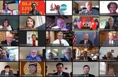 Онлайн-церемония в честь 25-летия вьетнамско-американских отношений