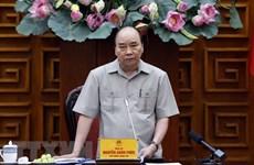 Премьер-министр призывает решимость предотвратить отрицательный рост