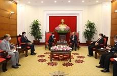 Вьетнам хочет укрепить партнерство с Индией