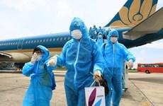 Туристы, застрявшие в Дананге после вспышки, вылетели в Ханой