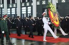Почти 660 делегаций присоединились к национальному трауру в связи с кончиной бывшего Генерального секретаря ЦК КПВ