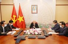 Лидеры Вьетнама и Лаоса проводят телефонные переговоры