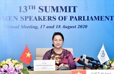 Председатель НС Нгуен Тхи Ким Нган приняла участие в 13-м саммите женщин - глав НС мира