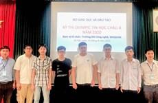 Сборная Вьетнама завоевала 6 медалей на 13-й Азиатско-Тихоокеанской олимпиаде по информатике