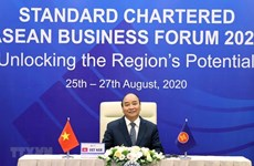 Премьер-министр принял участие в бизнес-форуме АСЕАН Standard Chartered 2020
