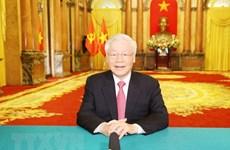 Послание Генерального секретаря ЦК КПВ, президента страны Нгуен Фу Чонга на совместной дискуссионной сессии высокого уровня 7