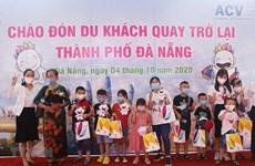 Дананг приветствует первую группу туристов спустя более двух месяцев