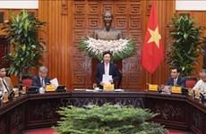 Вице-премьер встретился с делегацией Ассоциации развития экономического сотрудничества Вьетнам-АСЕАН