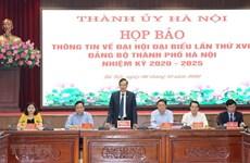 Ханой готов к 17-й конференции партийной организации