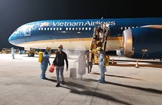 Вьетнамских граждан доставили домой из России