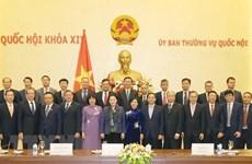 Председатель НС приняла послов и руководителей представительств за рубежом