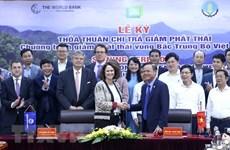 Вьетнам и ВБ подписали соглашение о приобретении сокращения выбросов