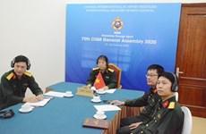 Вьетнам принял участие в 75-й генеральной ассамблее Международного совета по военному спорту
