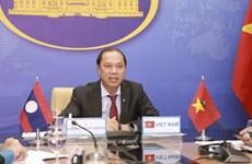 Состоялись вьетнамско-лаосские политические консультации на уровне заместителей министров