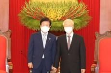 СМИ РК освещают визит спикера НС во Вьетнам