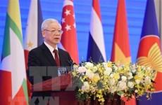 Президент Вьетнама заявляет о сохранении мирного, стабильного, сплоченного и единого региона АСЕАН