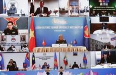 Высокопоставленные представители министерства обороны в АСЕАН и партнеры обсудили подготовку к ADMM +