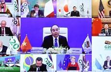Премьер-министр Нгуен Суан Фук принял участие в онлайн-саммите G20