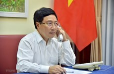 Заместитель премьер-министра провел телефонные переговоры с министром иностранных дел Анголы