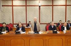 Политбюро обсуждает доработку документов для ХIII всевьетнамского съезда КПВ