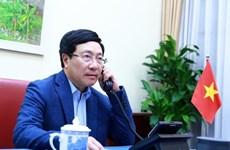 Министр иностранных дел Фам Бинь Минь провел телефонные переговоры со своим американским коллегой