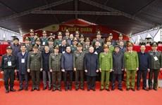 Запуск кампании и репетиция плана по обеспечению безопасности во время XIII съезда Партии
