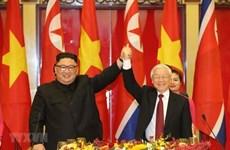 Генсек ЦК КПВ поздравил новоизбранного генерального секретаря Трудовой партии Кореи