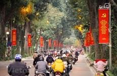 Ханой преображается в преддверии XIII всевьетнамского съезда Компартии