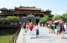 В 2020 году количество туристов, посещающих достопримечательности Хюэ, резко упало
