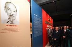 Открытие тематической выставки «Коммунистическая партия Вьетнама - от съезда до съезда»