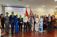 Дипломатические представительства Вьетнама во многих странах проводят встречи по случаю Тэт