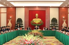 Политбюро провело встречу с бывшими партийными деятелями