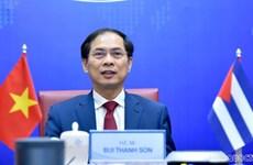 Консультации заместителей министров иностранных дел Вьетнама и Кубы по политическим вопросам
