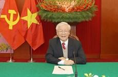 Поздравительные письма, телеграммы Генеральному секретарю ЦК КПВ, президенту Вьетнама Нгуен Фу Чонгу