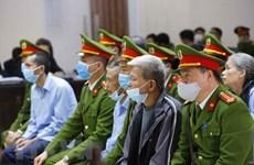 Вьетнам открыл апелляционный суд по делу убийства милиционеров в Донгтаме