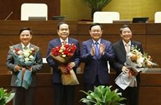 Национальное собрание избрало трех новых заместителей председателя